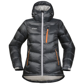 Bergans W's Memurutind Down Jacket Solid Dark Grey/Aluminium/Pumpkin